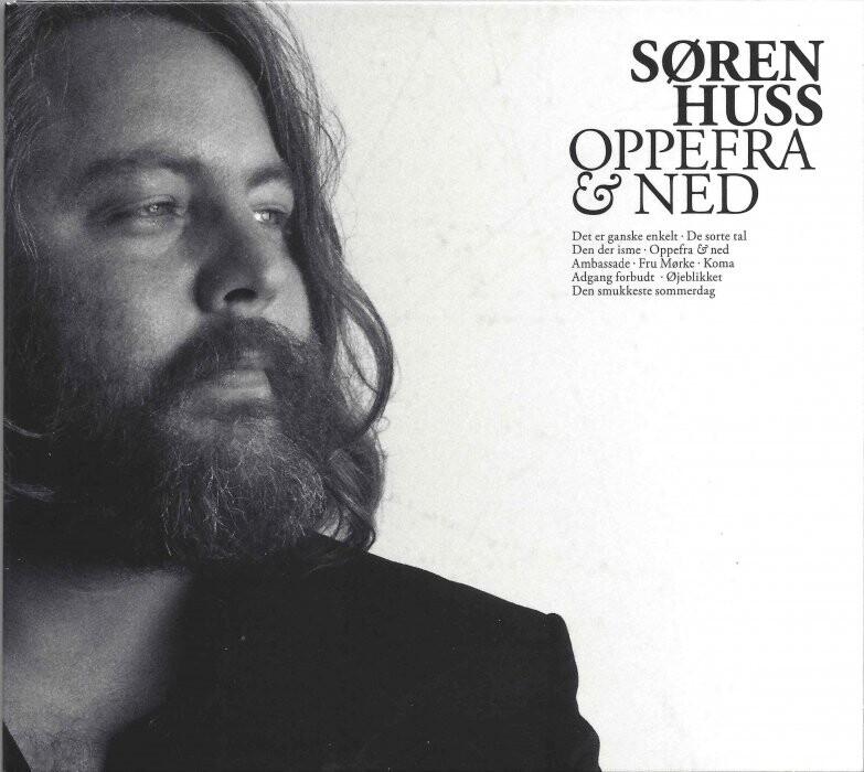 Billede af Søren Huss - Oppefra Og Ned - CD
