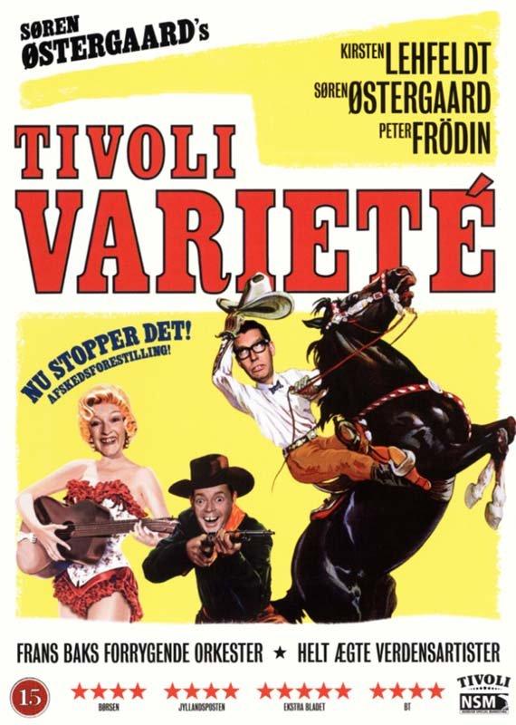 Image of   Søren østergaards Tivoli Varité 2009 - DVD - Film