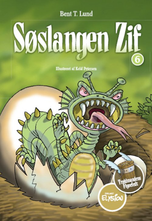 Image of   Søslangen Zif - Bent T. Lund - Bog