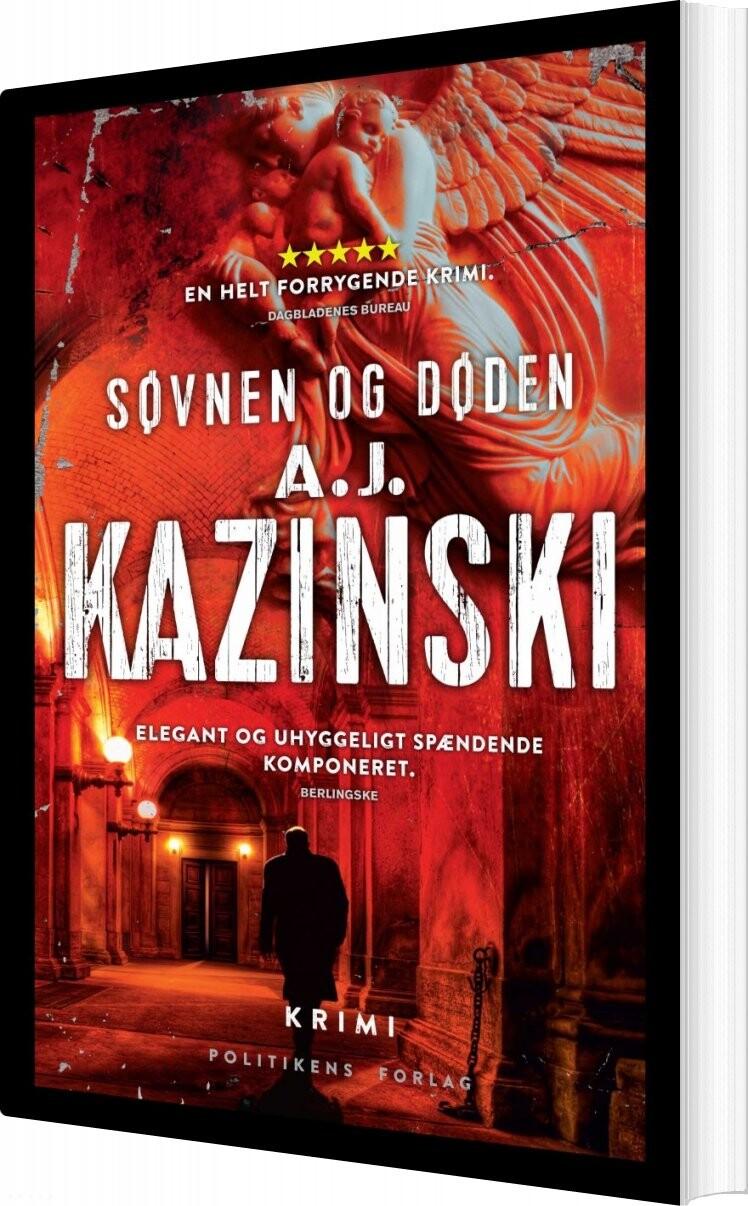 Image of   Søvnen Og Døden - Anders Rønnow Klarlund - Bog