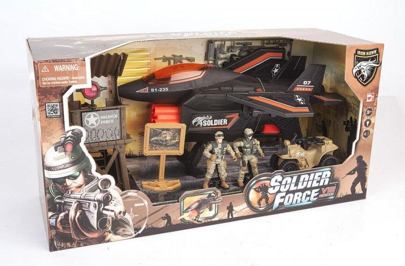 Image of   Soldier Force Legetøj - Six Darts Fighter Jet