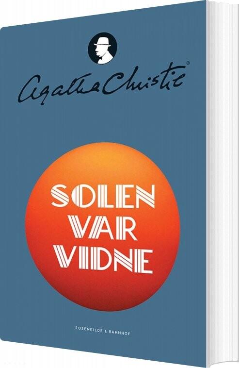 Solen Var Vidne - Agatha Christie - Bog