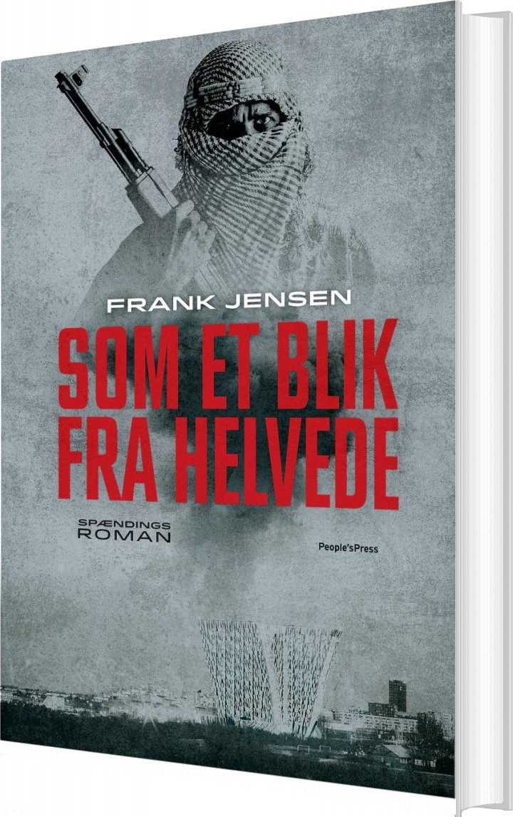 Som Et Blik Fra Helvede - Frank Jensen - Bog