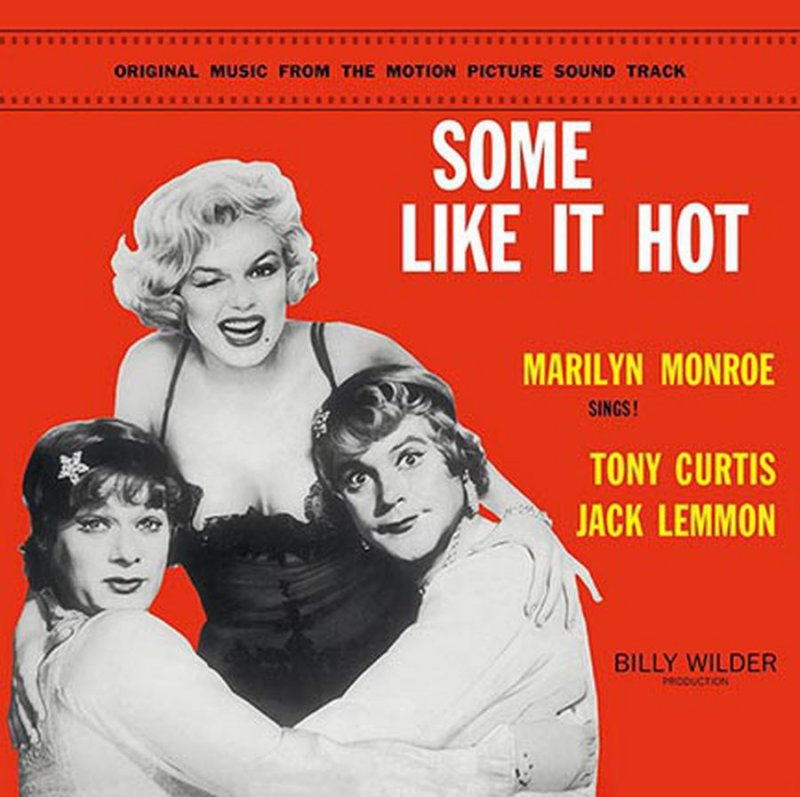 Image of   Marilyn Monroe - Some Like It Hot - Vinyl / LP