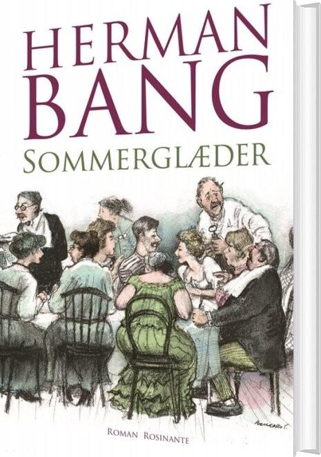 Image of   Sommerglæder - Herman Bang - Bog