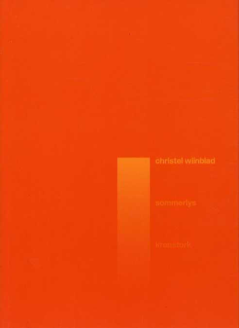 Sommerlys - Christel Wiinblad - Bog