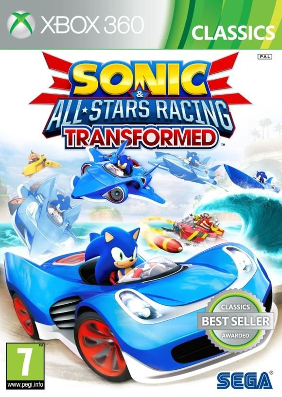 Sonic And All Stars Racing Transformed (classics) - Xbox 360