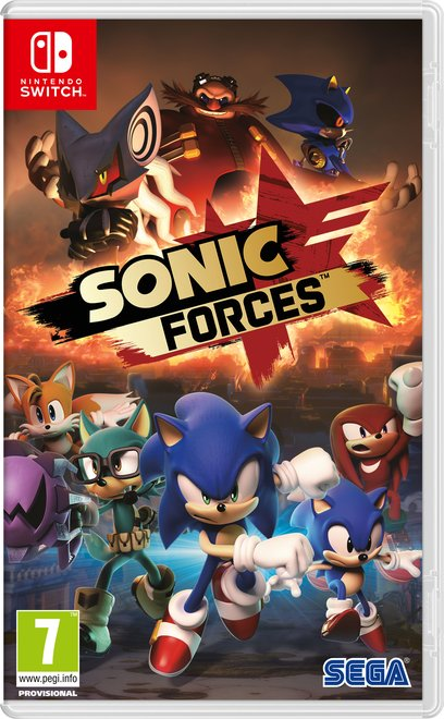 Image of   Sonic Forces - Nintendo Switch