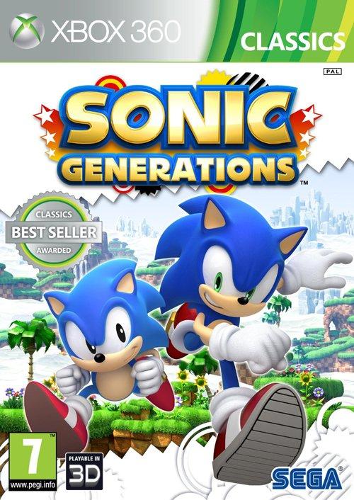 Sonic Generations (classics) - Xbox 360