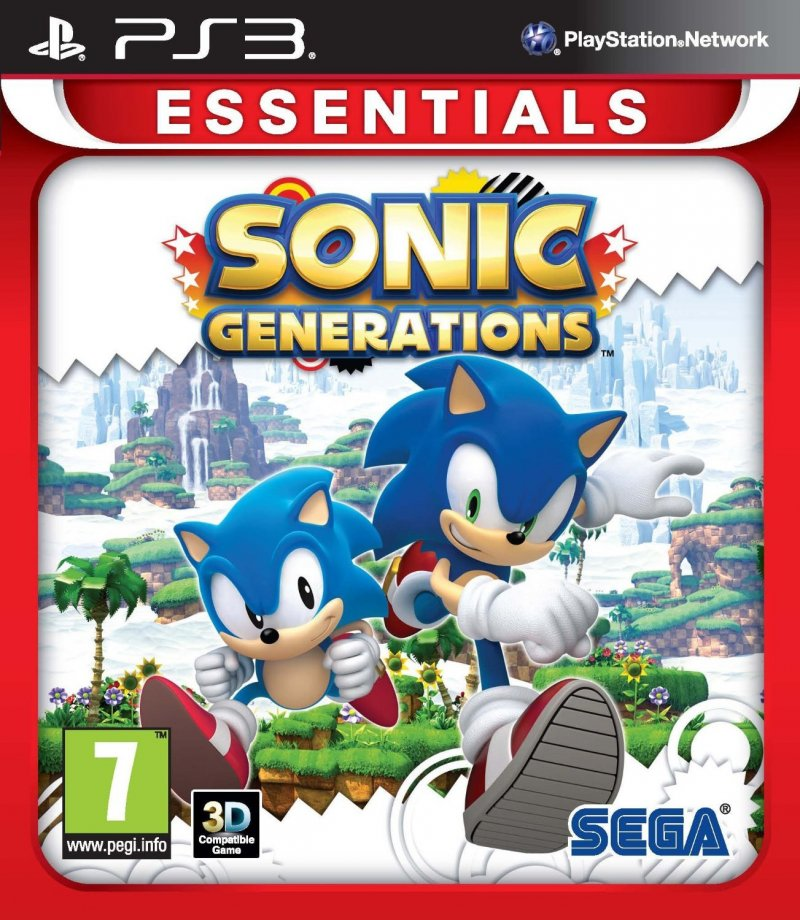 Image of   Sonic Generations (essentials) - PS3