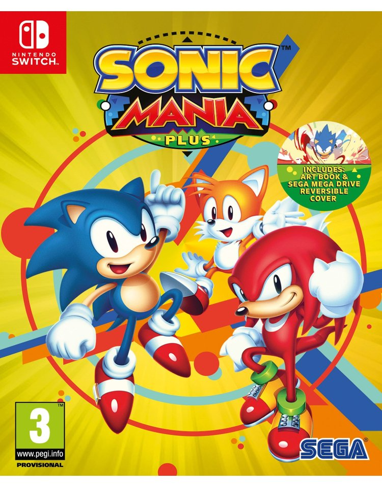 Image of   Sonic Mania Plus - Nintendo Switch