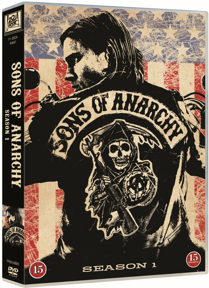 Sons Of Anarchy - Sæson 1 - DVD - Tv-serie