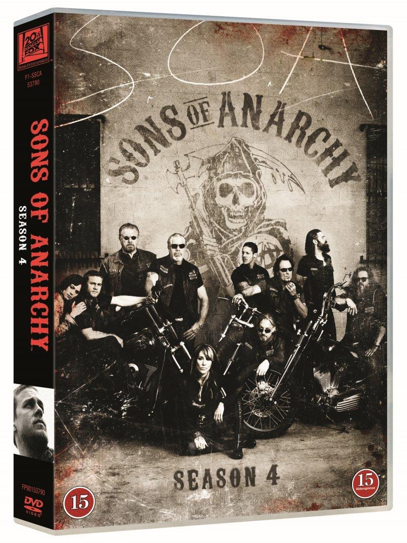 Billede af Sons Of Anarchy - Sæson 4 - DVD - Tv-serie