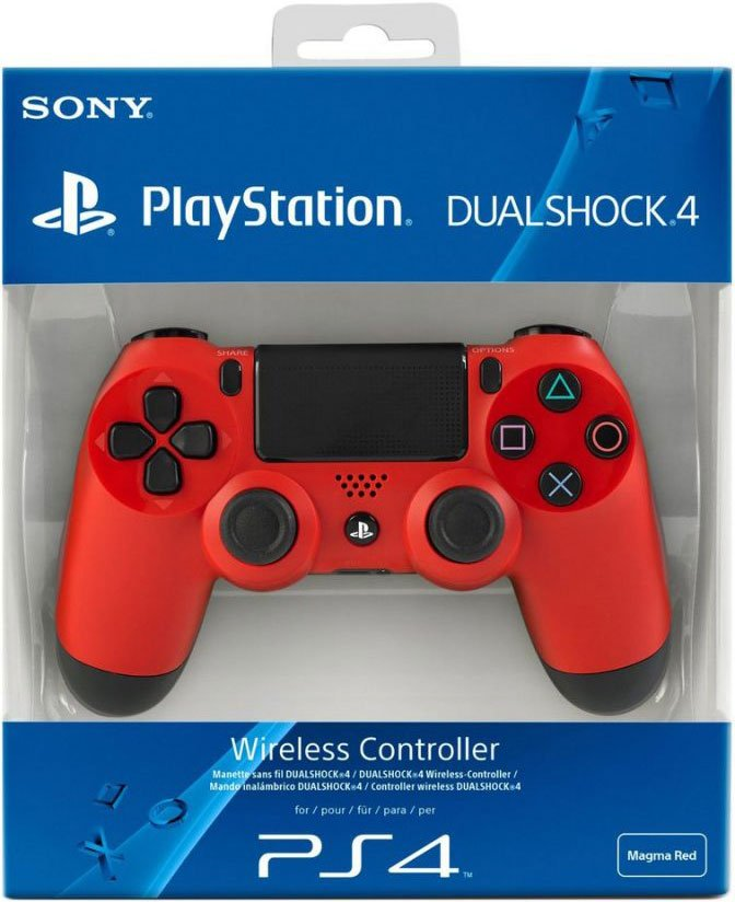 Image of   Sony - Dualshock 4 Controller - Rød