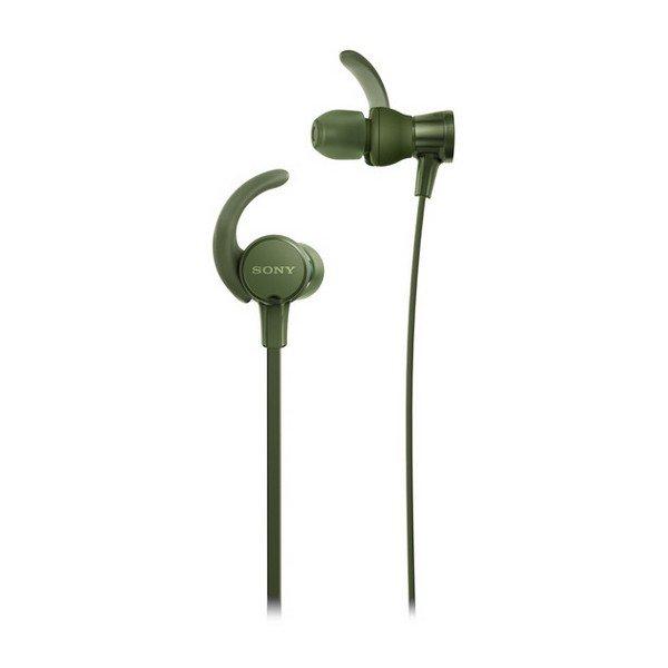 Billede af Sony - In-ear Sports Høretelefoner Til Løb Og Aktivitet - Mdrxb510as - Grøn