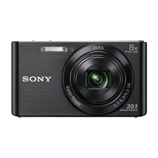 Image of   Sony Kompakt Kamera Dsc-w830 - Sort
