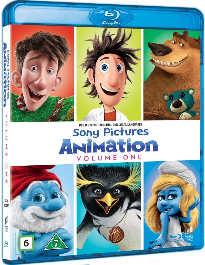 Image of   Sony Pictures Animationer - Boks 1 - Blu-Ray