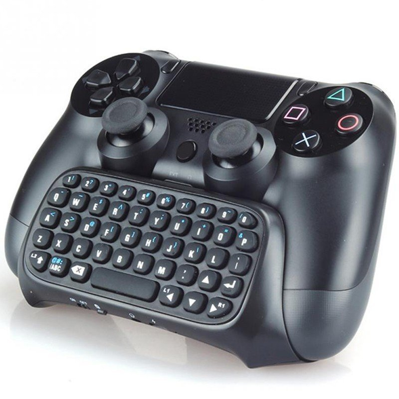 Image of   Numskull Bluetooth Tastatur Til Playstation 4 - Rækkevidde 8-10m.
