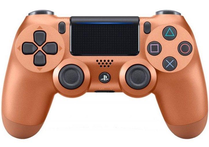 Image of   Dualshock V2 Controller Til Ps4 I Copper Farve
