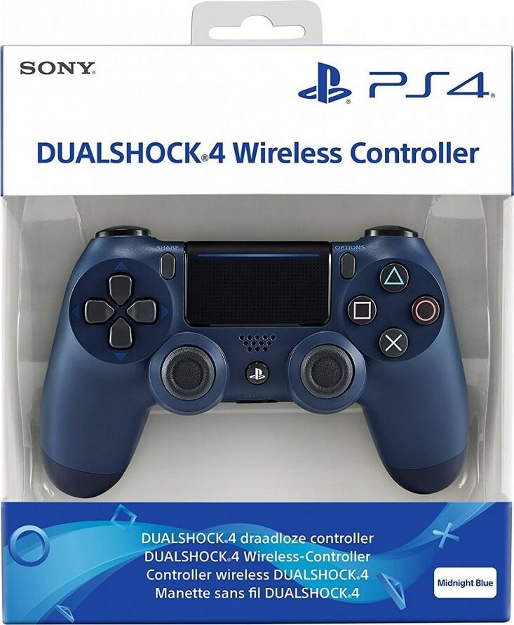 Sony Ps4 Controller V2 - Midnatsblå