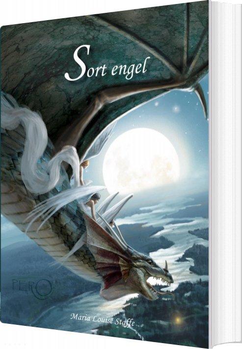 Image of   Sort Engel - Maria Louise Staffe - Bog