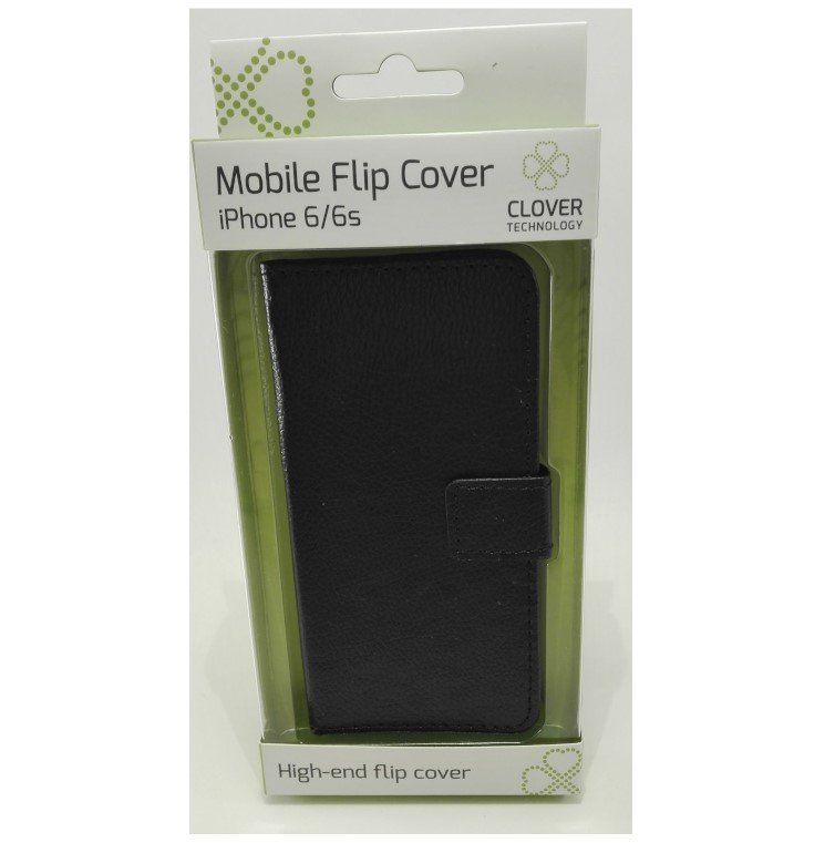 Image of   Iphone 6/6s - Flip Cover - Sort - Clover