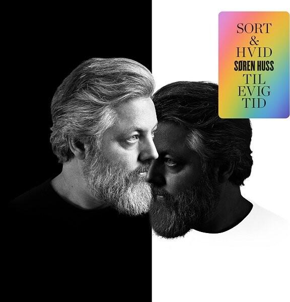 Billede af Søren Huss - Sort Og Hvid Til Evig Tid - CD