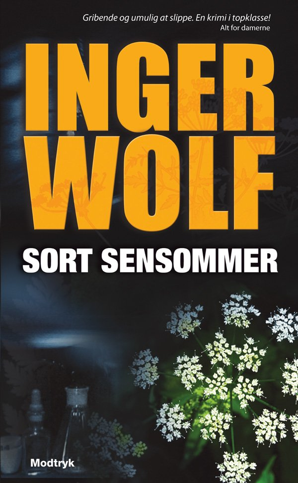 Sort Sensommer - Inger Wolf - Bog