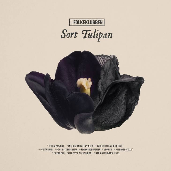 Image of   Folkeklubben - Sort Tulipan - CD