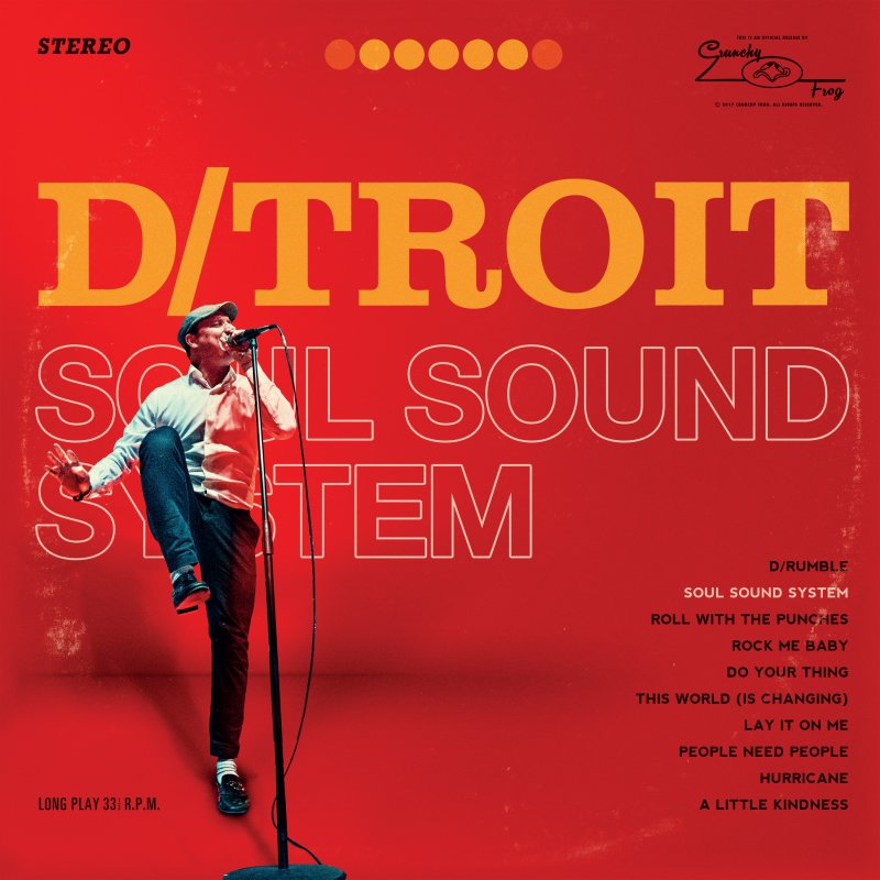 Image of   D-troit - Soul Sound System - CD