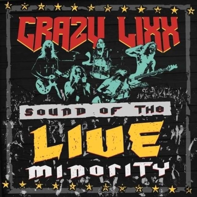 Image of   Crazy Lixx - Sound Of The Live Minority - CD