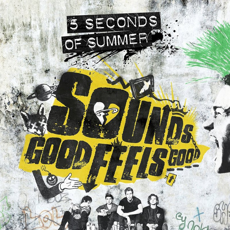 Image of   5 Seconds Of Summer - Sounds Good Feels Good - CD