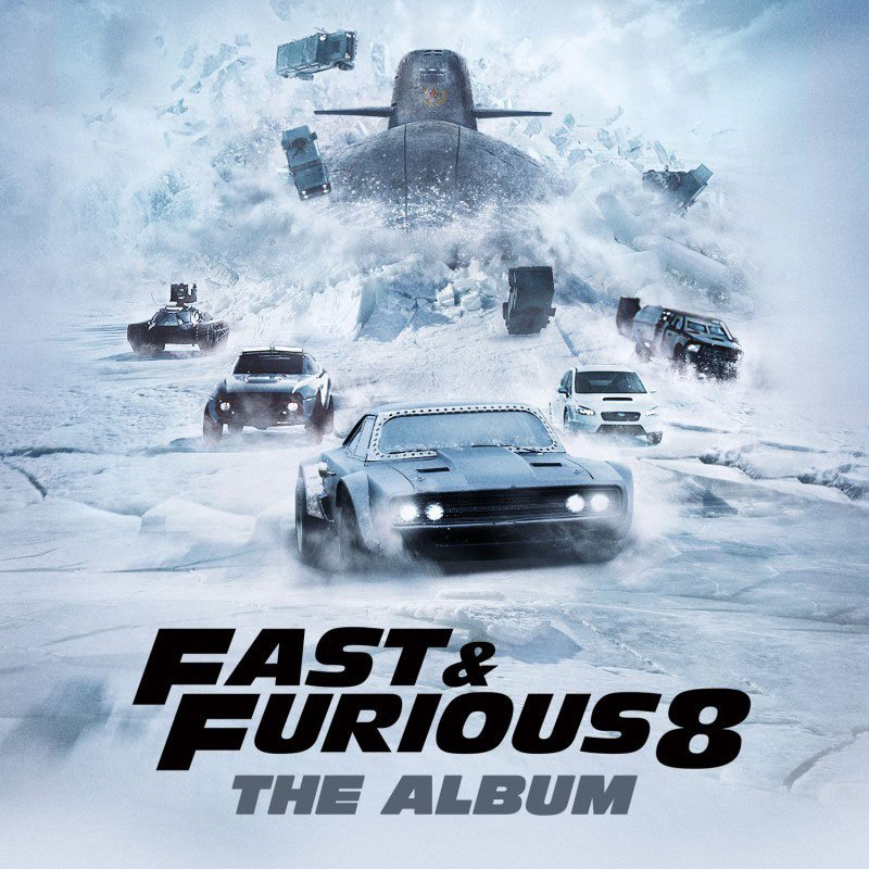 Image of   Fast And Furious 8 - Soundtrack - CD