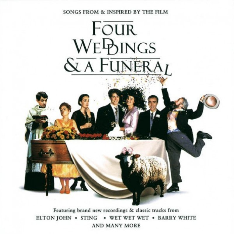 Image of   Four Weddings And A Funeral Soundtrack - CD