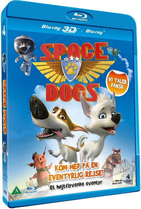 Image of   Space Dogs (3d + 2d Blu-ray) -