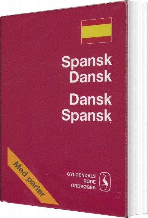 Spansk-dansk/dansk-spansk Ordbog - Pia Vater - Bog
