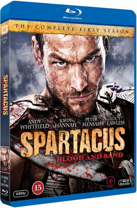Image of   Spartacus: Blood And Sand - Sæson 1 - Blu-Ray - Tv-serie