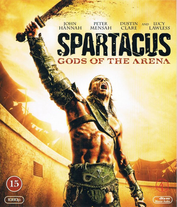 Spartacus - Gods Of The Arena - Blu-Ray - Tv-serie