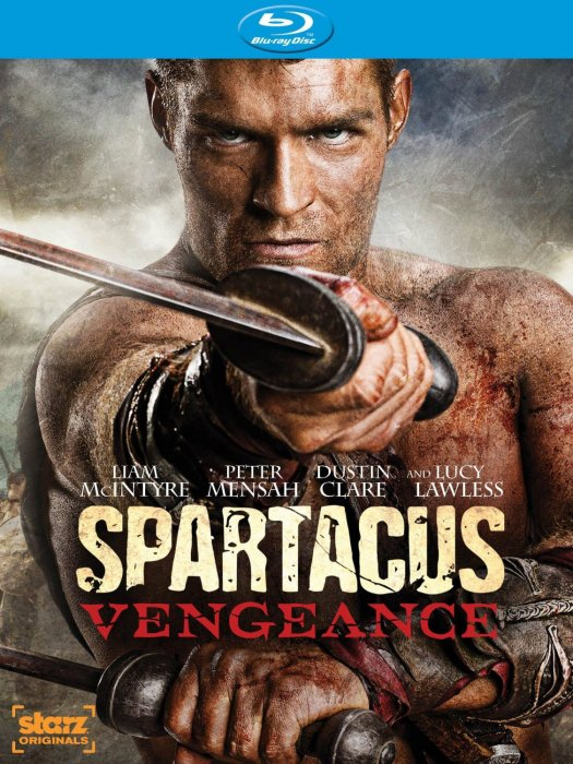 Image of   Spartacus: Vengeance - Sæson 2 - Blu-Ray - Tv-serie