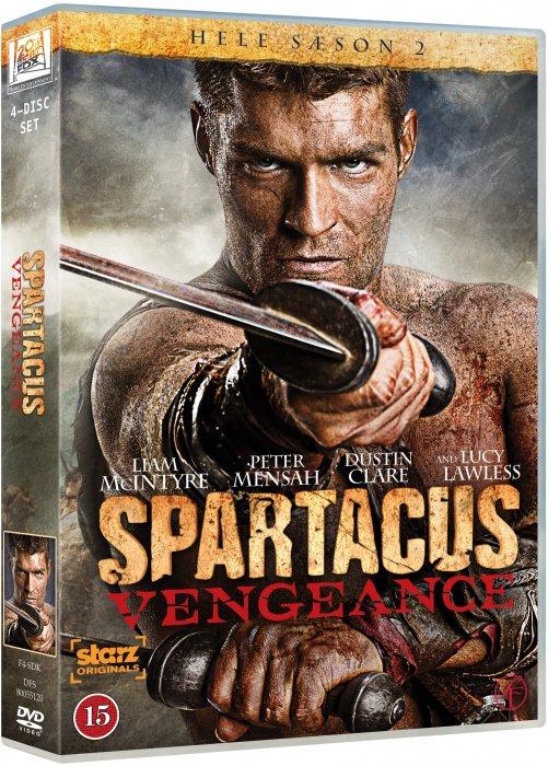 Billede af Spartacus: Vengeance - Sæson 2 - DVD - Tv-serie