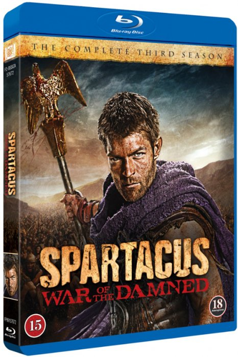 Spartacus - War Of The Damned - Sæson 3 - Blu-Ray - Tv-serie