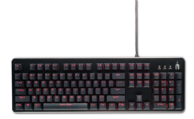 Image of   Spartan Gear Minotaur Mekanisk Gaming Tastatur Med Kabel Og Eu Layout