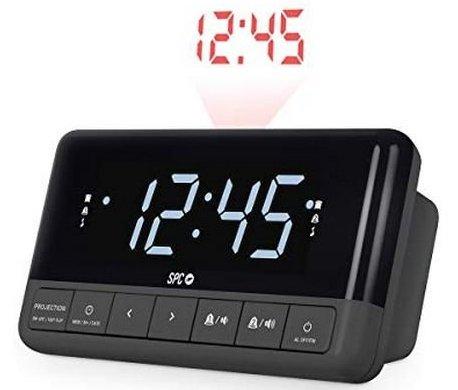 fc62c74b2c8 Spc Clockradio - Floki Max - Vækkeur Med Projektor - Sort → Køb ...