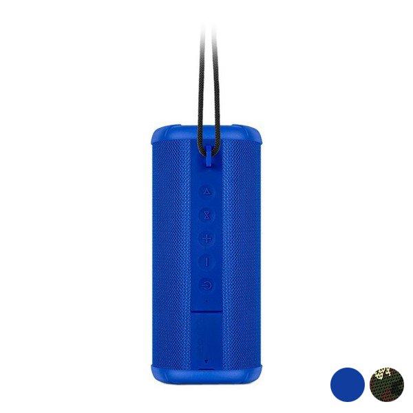 Spc – Trådløs Bluetooth Højtaler – 10 Timer – Vandafvisende – Blå