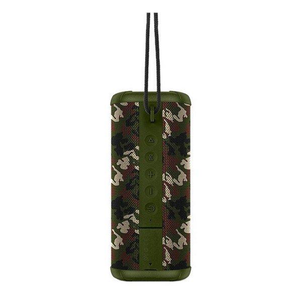 Spc – Trådløs Bluetooth Højtaler – 10 Timer – Vandafvisende – Grøn
