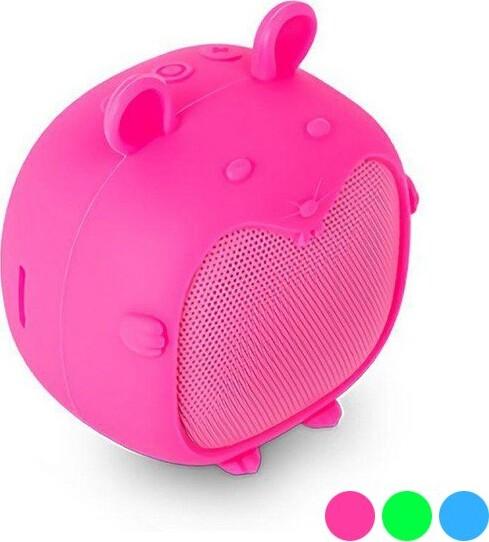 Spc – Trådløs Bluetooth Højtaler Med 3 Timers Musik – Sound Pups – Pink