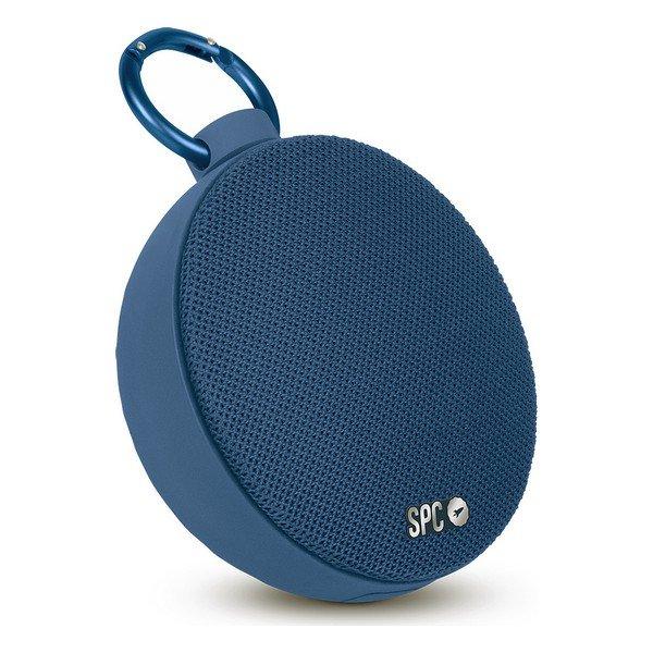 Spc – Trådløs Bluetooth Højtaler Med Krog – 7 Timer – Blå