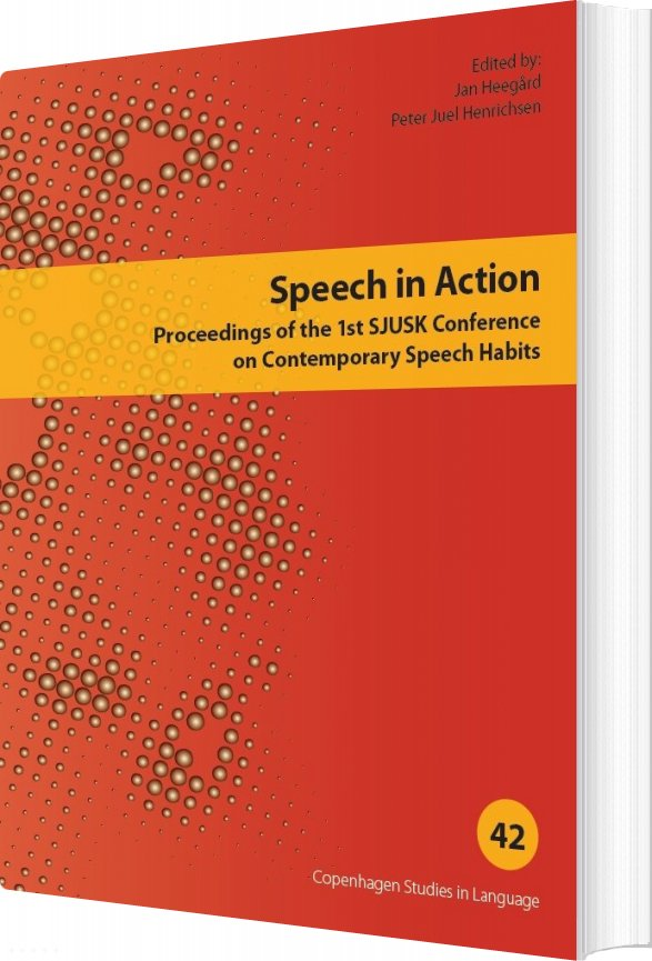 Image of   Speech In Action - Peter Juel Henrichsen - Bog