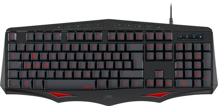 Speedlink - Lamia Gaming Keyboard / Tastatur - Nordisk