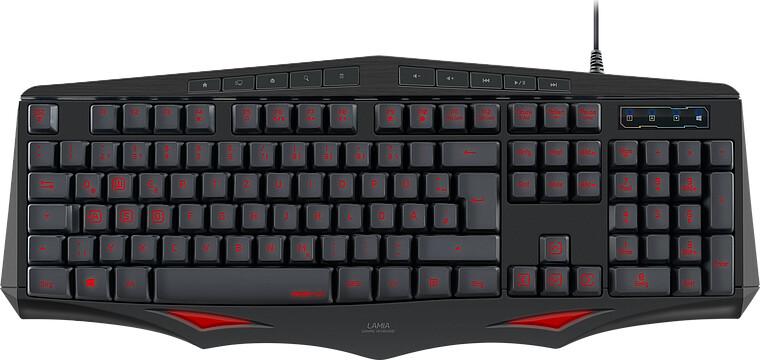 Image of   Speedlink - Lamia Gaming Keyboard / Tastatur - Nordisk